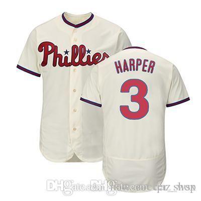a8e5f016d 2019 3 Bryce Harper Jersey Philadelphia Phillies Flex Base Cool Base Majestic  Alternate Embroidery Mesh Retro White Red Mens Baseball Jerseys From ...