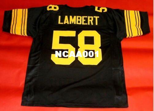 5aad0a248e7 Men CUSTOM #58 JACK LAMBERT Retro College Jersey Size S 4XL Or Custom Any  Name Or Number Jersey Australia 2019 From Ncaa001, AU $16.45 | DHgate  Australia