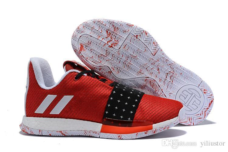 bf70b4cbd868 Harden Vol 3 Black Basketball Shoes For Hot Sale Top Quality New James  Harden Sports Running Shoes US7 US11.5 Vegan Shoes Comfort Shoes From  Vogue8847