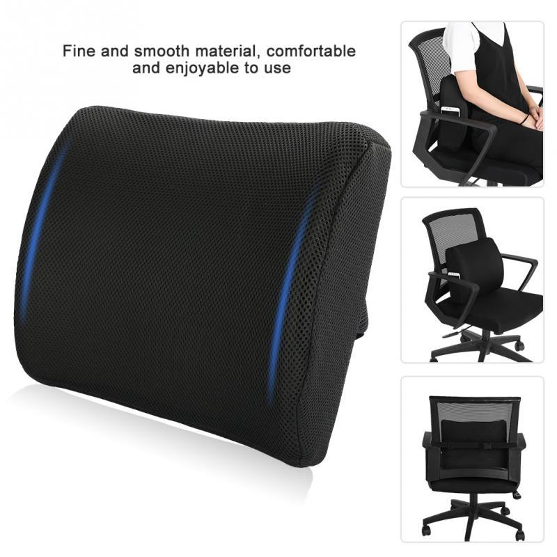 2019 New Black Back Pillow Rebound Memory Foam Pillow Car Chair Back Rest Cushion For Office Home Chair Massage Cushions From Youerbeauty $28.65 | DHgate.  sc 1 st  DHgate.com & 2019 New Black Back Pillow Rebound Memory Foam Pillow Car Chair Back ...