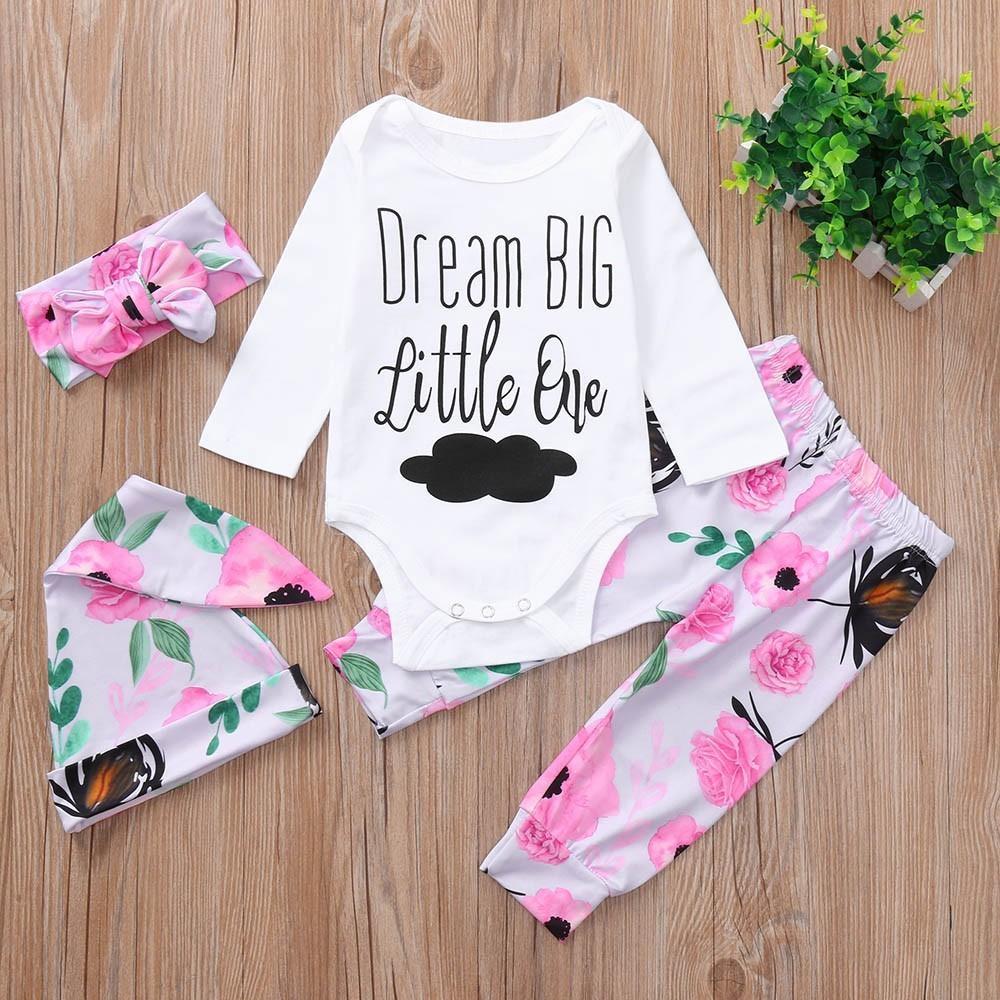 da1f26b38 2019 Good Quality Fashion Kids Winter Clothes Floral Cloud Print ...