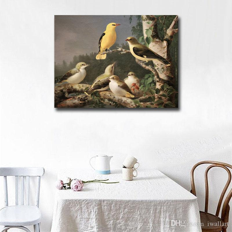 The Sparrow Bird Wall Art Canvas Posters Prints Painting Wall Pictures For Bedroom Home Decor