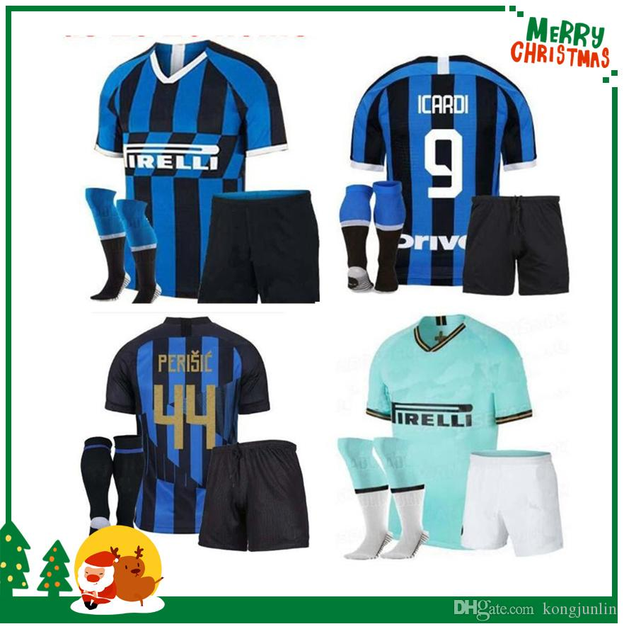 41d2b42c1 2019 20th Anniversary Souvenir 2019 Inter Kids Boy Kit Home Jersey CANDREVA  EDER ICARDI JOVETIC Milan Kondogbia Jovetic Icardi Sports Shirts From  Kongjunlin ...