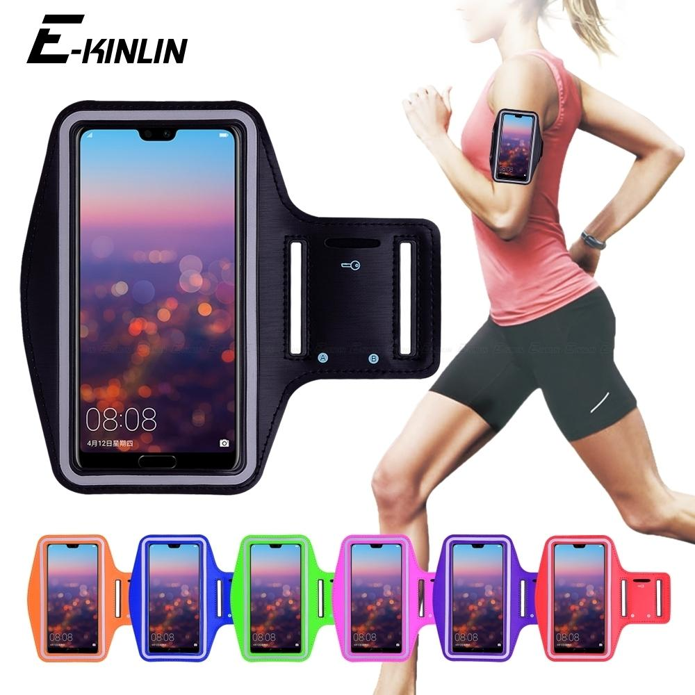 Running Gym Cycling Sport Workout Phone Holder Bag Cover For Huawei P30 P20 Pro P10 P9 Plus P8 Lite Mini Gr5 2017 Arm Band Case C19041301
