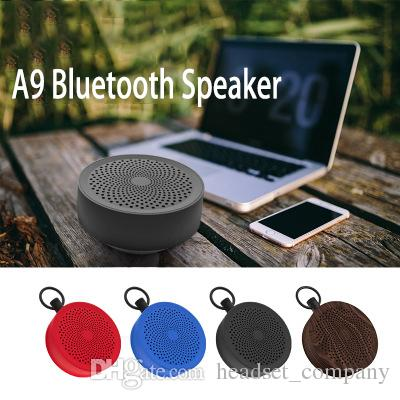A9 Mini Wireless Bluetooth Speaker Portable Handfree Subwoofer Stereo  Anti-slip Music Player Loudspeakers for iPhone Xiaomi Huawei