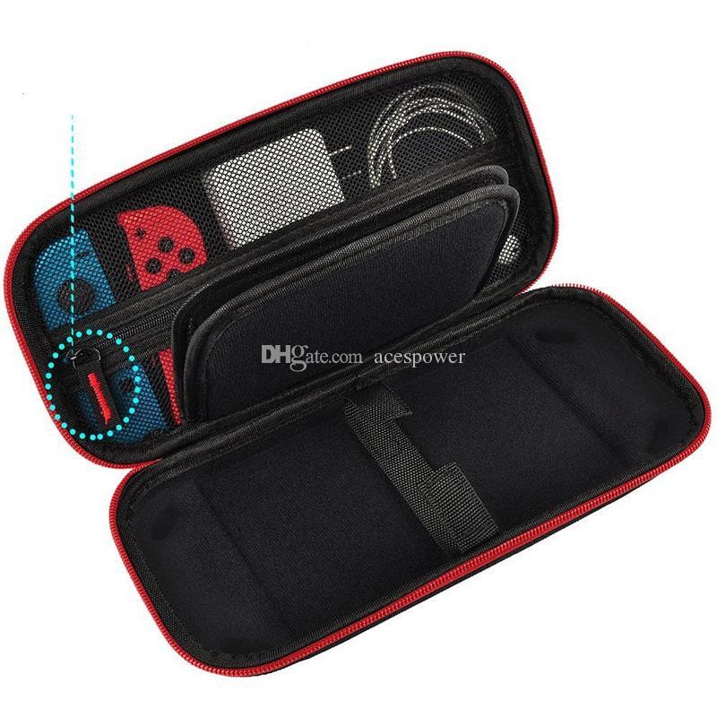 Для Nintendo Switch Lite Console Case Прочный игровой карт для хранения мешков для хранения карт, переносящий чехол жесткая сумка EVA оболочкой портативный перенос сумкой защитный чехол