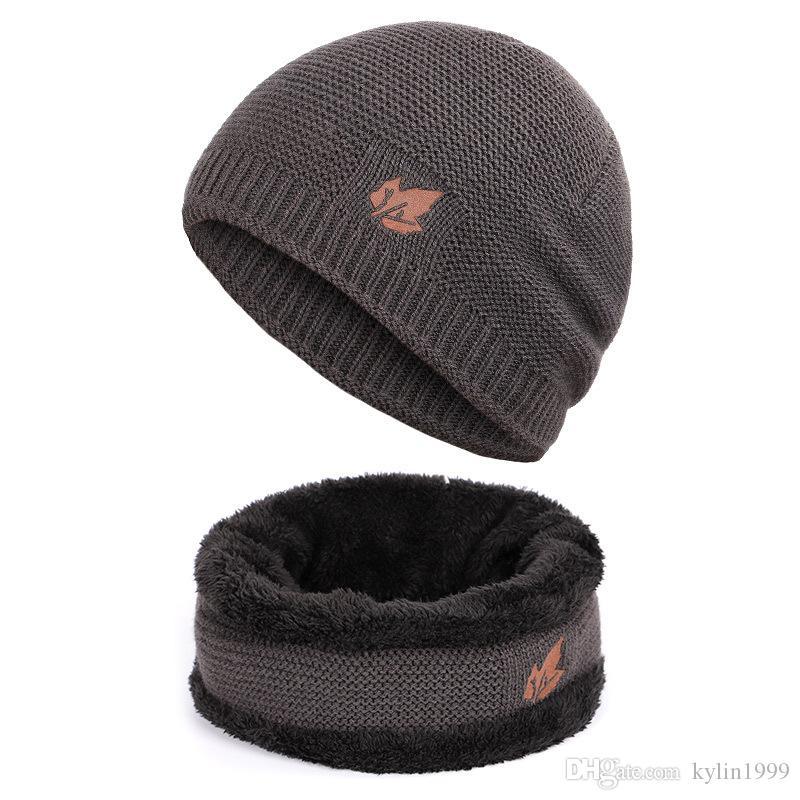 ad67b27913b 2019 2018 Brand Bone Men S Winter Hat Knitted Wool Beanies Men Hip Hop  CapTurban Caps Skullies Balaclava Hats For Women Gorros Rated From  Kylin1999
