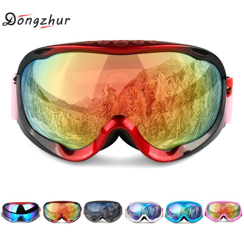 Compre Quadro Completo Óculos De Esqui Com Caso Anti Fog Óculos De Esqui  Neve Óculos De Esqui Homens Mulheres Inverno Snowboard Eyewear Proteção UV  De ... 3688d5148d