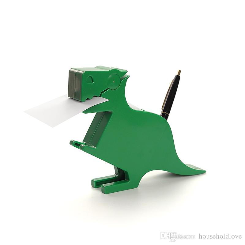 Dinosaur Shaped Note Holder Cute Dinosaur Office Stationery