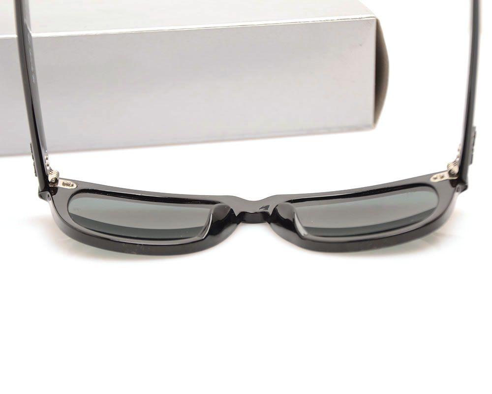 High Quality Plank Sun glasses Black glass Lens Sunglasses Metal hinge Sunglasses Brand Designer Mens Sun glasses Womens glasses with cases