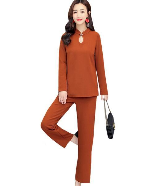 bf37395e43 2019 Plus Size 5xl Set Women Tracksuit Women Ensemble Femme Deux Pieces  Year Old Female Costume Suit Conjunto Feminino DC107 From Ceciliasa, $44.9  | DHgate.