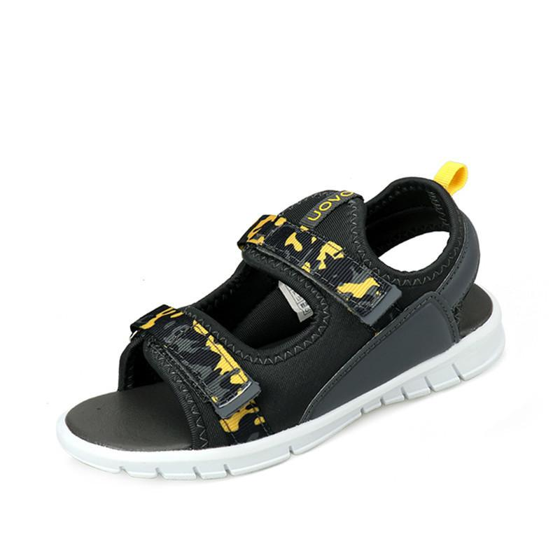 35e11714b 2019 New Kids Sandals For Boys Girls Summer Shoes Flat Light Weight Sole  Children Sandals High Quality Eur Size  25 32 Black Sneakers For Toddlers  Girls ...