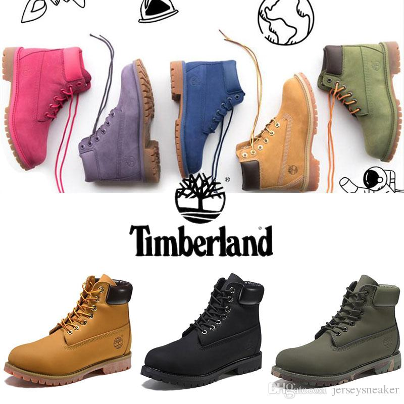 Original Timberland Boots Mens Designer Sports Brown Red White Winter Boots  Sneakers TBL Casual Trainers Womens Luxury Brand Boots 36 45 Boot Ankle  Boots ... 072cbc3e40