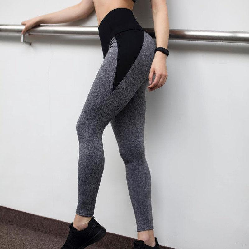 bd0cc3c7d9 2019 Fashion Women High Waist Pockets Stretch Black Gray Soft Trendy  Flexible Sport Workout Running Gorgeous Ladies Gray Leggings From Vineger,  ...