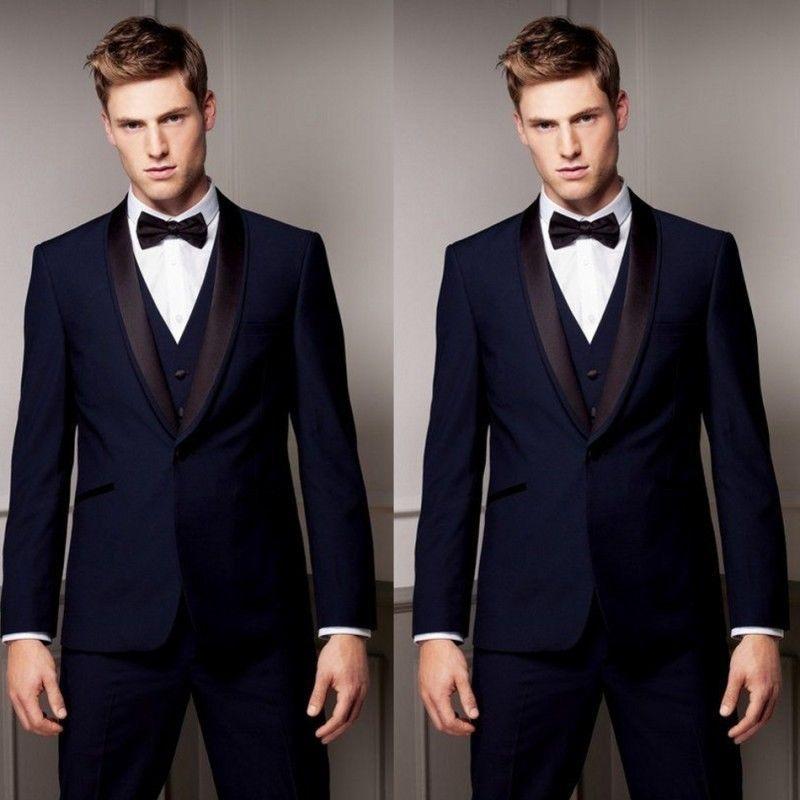 The Best Man Wedding 2019 2019 Men Wedding Groom Tuxedos Suits Groomsman Suit Peak Lapel