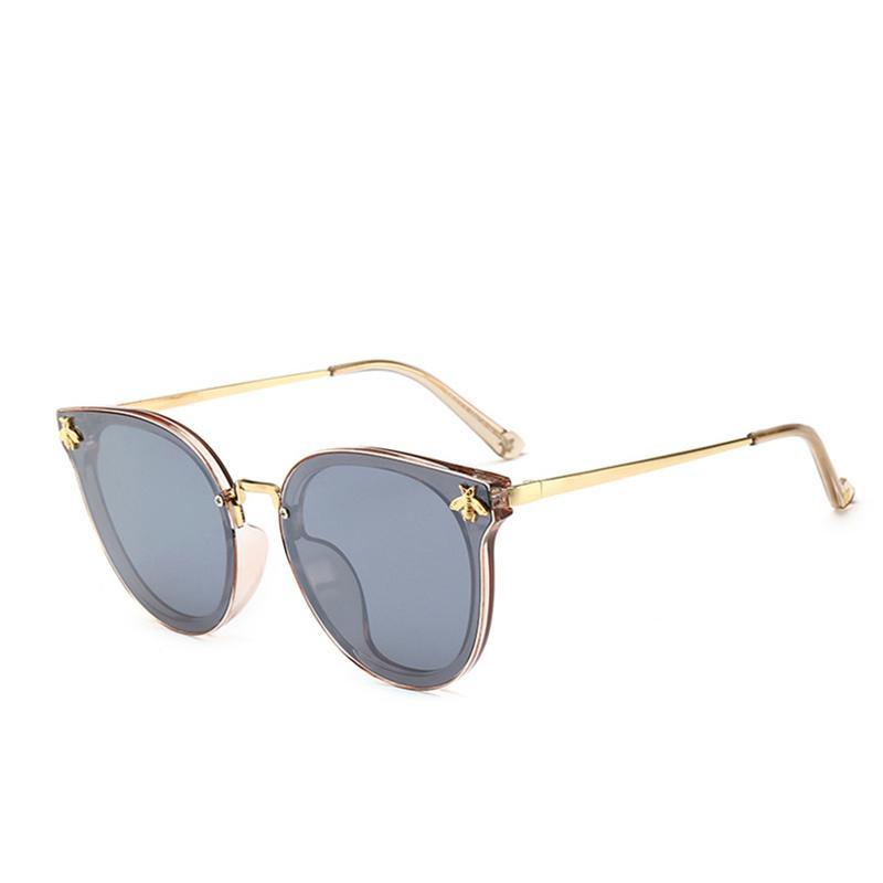8101b1f893 2019 Fashion Honeybee Sunglasses Luxury Women Brand Cat Eye Popular Glasses  High Quality UV Protection Sunglasses Famous Designer Eyewear Sun Glasses  ...