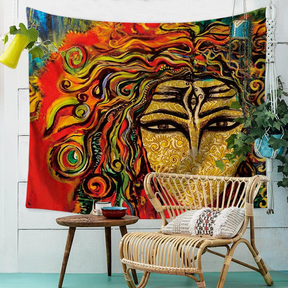 Across The Abstract Restore Ancient Ways Oil Painting Hanging Cloth Home Decorations Wall Hanging Mandala Tapestry Mandala