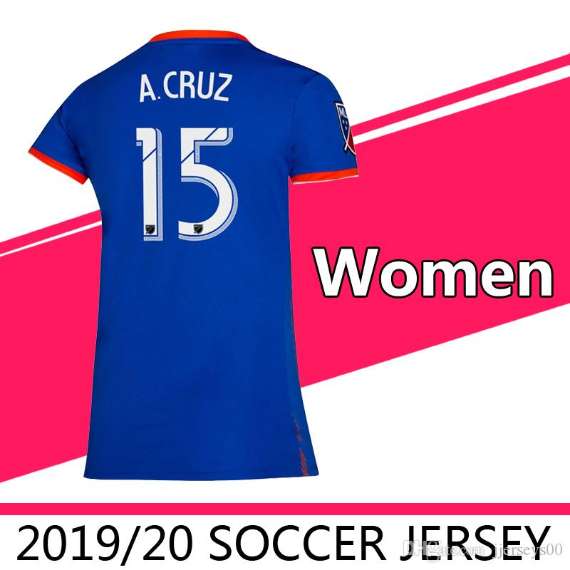 ad0422e82 2019 2020 MLS Futbol Club Women S FC Cincinnati Home Soccer Jerseys  Football Shirt 19 20 GARZA Girl Frail Football Shirts Running Jerseys UK  2019 From ...