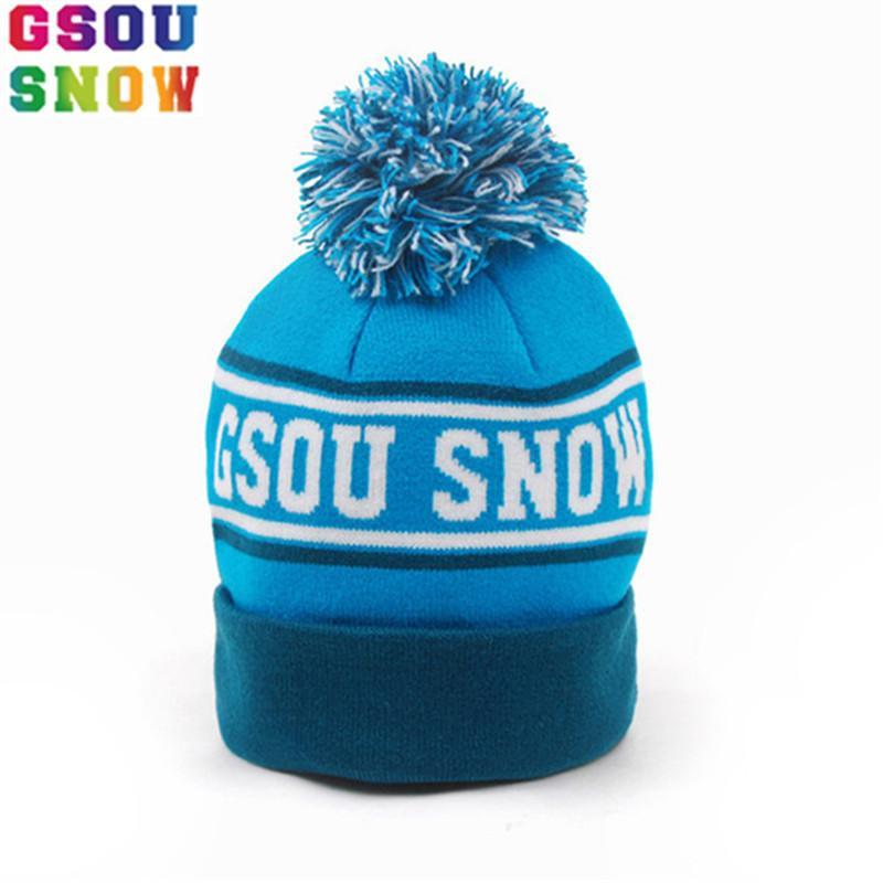 Gsou Snow Winter Kids Ski Hat Outdoor Ski Snowboard Thermal Hat Baby Boys  Girls Super Warmth Windproof Snow Hats Christmas Gift C18112301 Baseball Cap  ... c213c620d5f