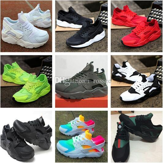 2019 New Huarache Ultra Running Shoes For Men   Women Big Kids Boys And  Girls Black White Red Sneakers Huaraches Sports Shoes Size 36 46 Tennis  Shoes Ladies ... ebd5912ed8