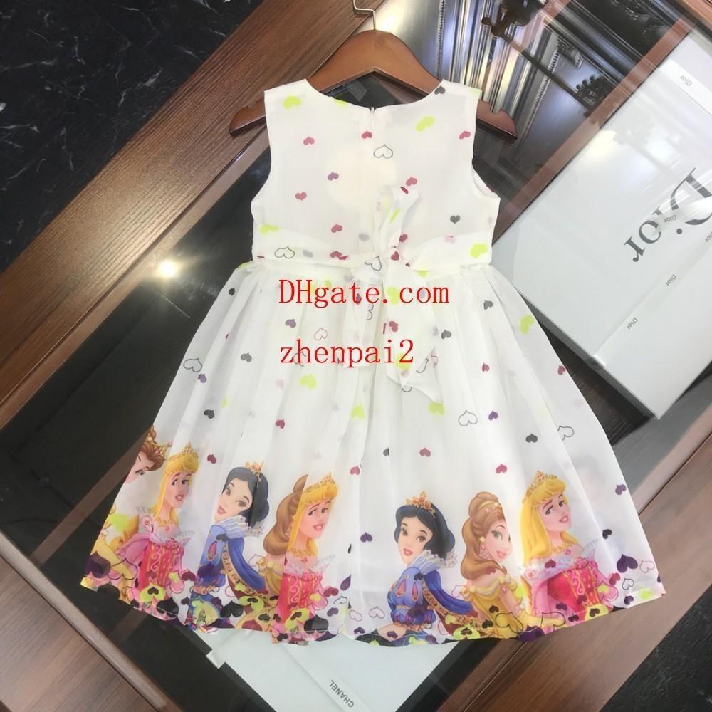 446b8e765fcec Satın Al Kızlar Elbise Çiçek Çocuk Giyim Yaz Moda Kolsuz Yelek ...