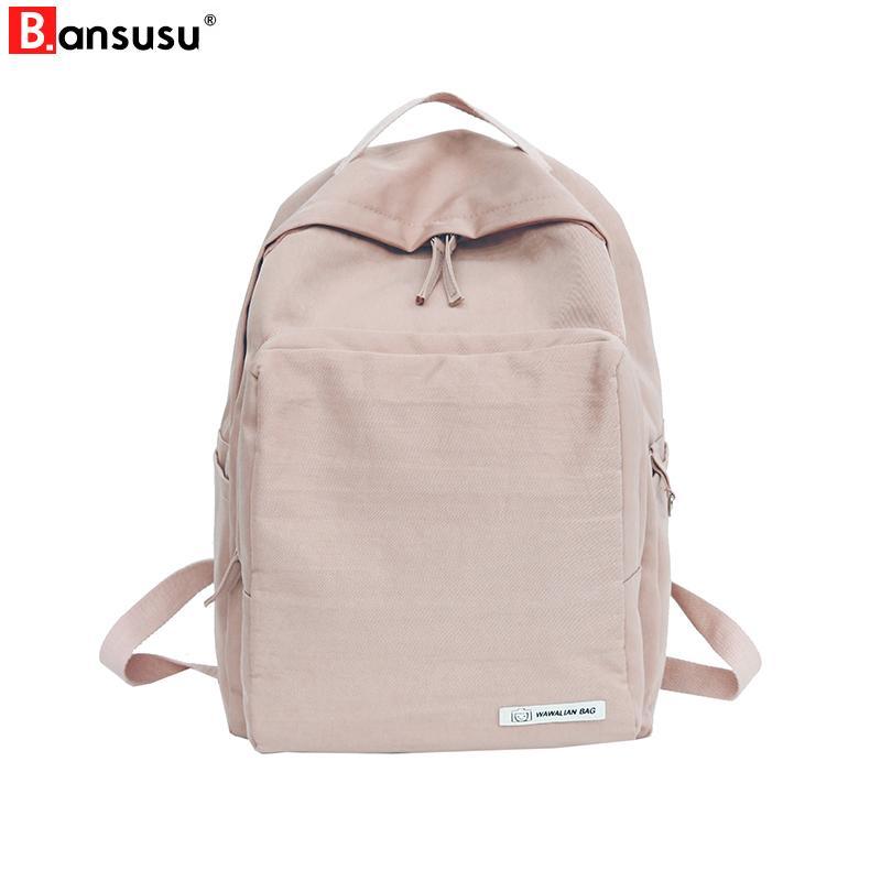7b506bf4528f 2019 FashionWomen Backpacks Korean Style New 2018 Harajuku Ulzzang Travel  Backpack Waterproof High School Bag For Teenager Girls Book Bags Swiss Gear  ...