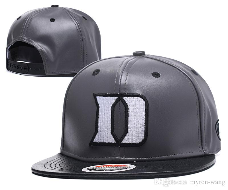 cb6157d89c164 2019 Wholesale College Basketball Hats Duke Blue Devils Caps Blue Gray  Snapbacks Hat Adult And Youth Cap From Myron Wang