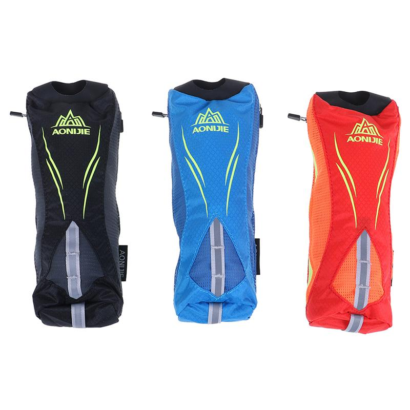 Wrist Storage Bag Running Hand-held Water Bottle Kettle Holder Hydration Pack Hydra Fuel Soft Flask Marathon Race