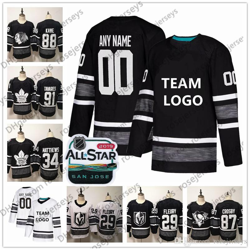 1d14b9ee8 Custom 2019 NHL All-Star Game Jerseys Stitched Any Name Number ...