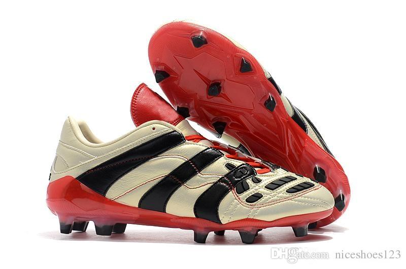 513041386ee 2019 2019 Predator Accelerator Electricity FG David Beckham Becomes Soccer  Shoes Men Soccer Shoes Cleats Football Boots From Niceshoes123