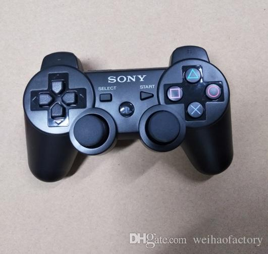Contrôleurs PS3 Contrôleur sans fil Contrôleurs de jeu Bluetooth Double choc pour le playstation 3 Manette de jeu Joysticks PS3