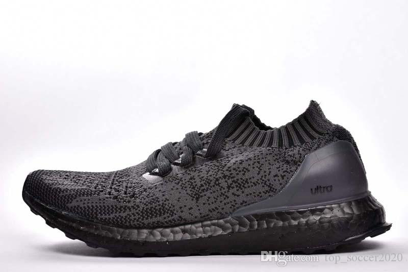 (+BOX) Top Quality A+++ UB Socks Shoes Ultra Uncaged Triple Black Running Shoes Men Women Sports Shoes Ultra 4.0 Sneaker