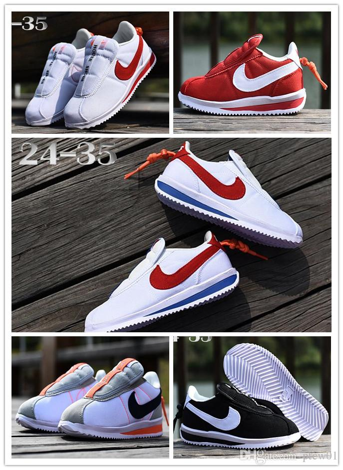 brand new fcb42 99f0b NIKE CORTEZ KENNY IV CORTE youth Running Shoes kid Sneakers Shoes Air run  out door Sports shoes size 24-35