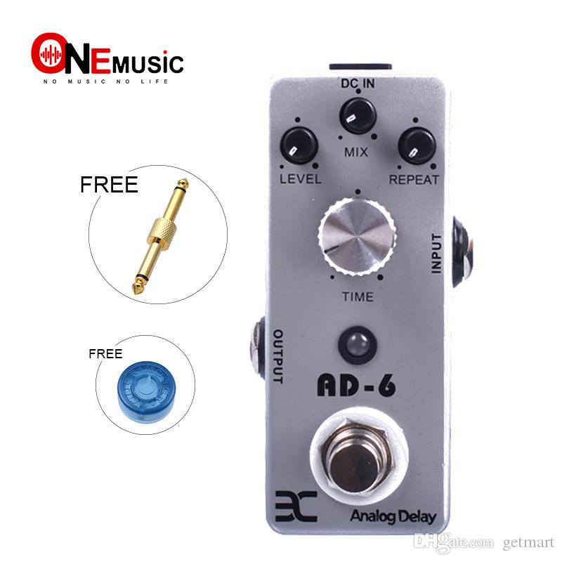 Eno AD-6 Analog Delay Pedal Guitar 30-340ms delay time Effect Metal Shell Pedals MINI Compact Size True Bypass MU0135