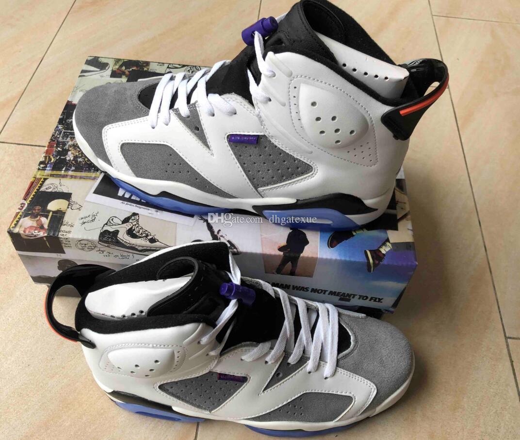f7d9035e869 High Quality Retro FIint Mens 6 FIint Shoes 6S FIint Shoes Size Us 7 ...