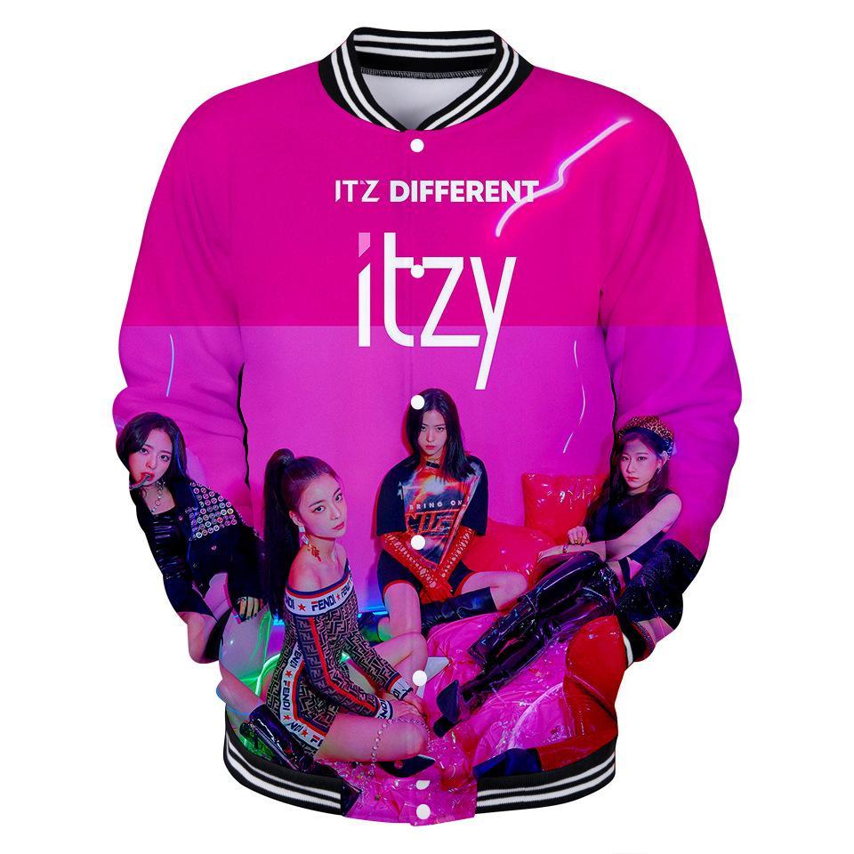 2a1caca8535e 2019 3D Kpop ITZY Korean Cute Sweatshirt Game Women Men Hoodies ...
