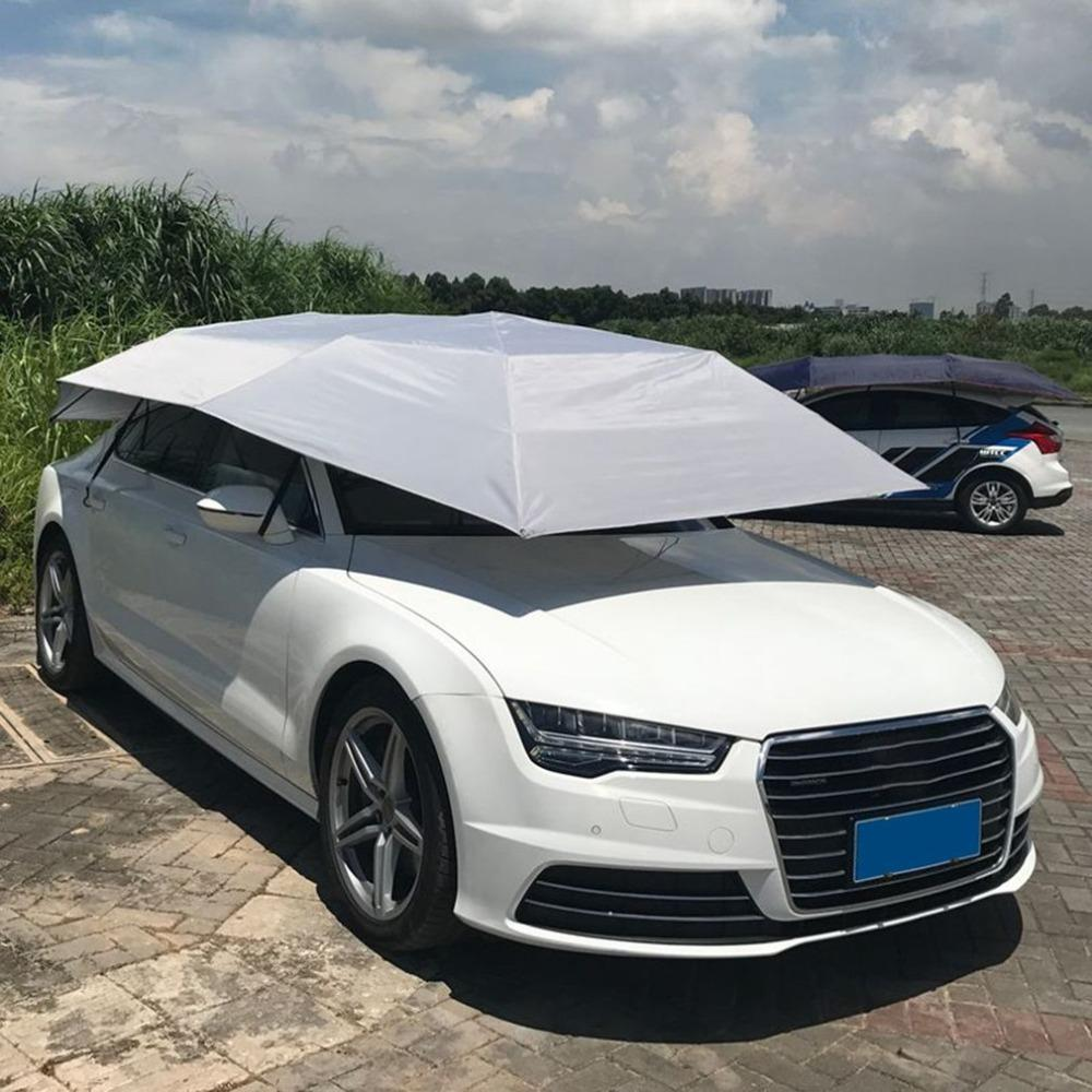 Professional Fully Automatic Car Tent Movable Sun Shade Umbrella Dust Proof Awning Sun Proof Car Umbrella With Remote Control Window Covers Car Winter Car ... & Professional Fully Automatic Car Tent Movable Sun Shade Umbrella ...