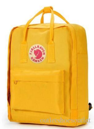 Fjallraven Kanken 7L 16L 20L классический рюкзак дети и женщины мода стиль Дизайн сумка средней школы рюкзаки на продажу