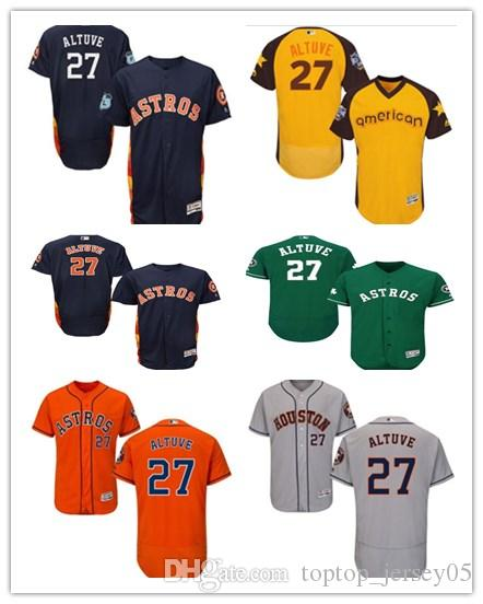 save off 779d9 f9d19 2018 can Houston Astros Jerseys #27 Jose Altuve Jerseys  men#WOMEN#YOUTH#Men's Baseball Jersey Majestic Stitched Professional  sportswear