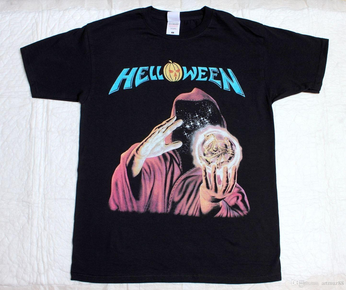 NEW HELLOWEEN KEEPER OF THE SEVEN KEYS GAMMARAY HOT K058 Best Designer T  Shirts Funny Team Shirts From Artmuz88 7f4097ef4