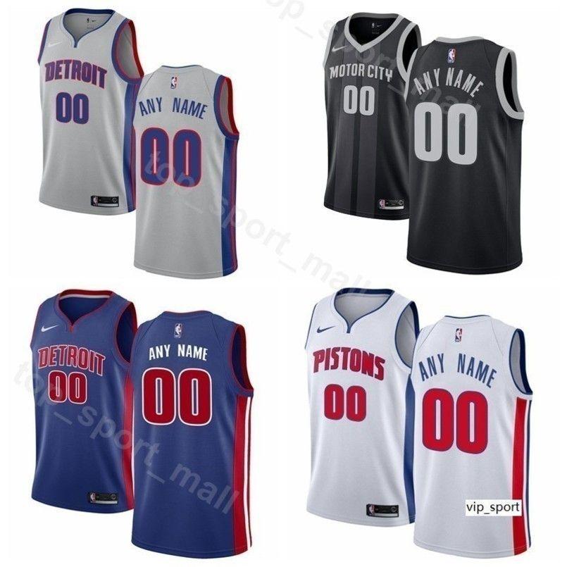 new product 8214e 5a944 Print Man Kids Woman Detroit Basketball Pistons Blake Griffin Jersey Andre  Drummond Reggie Jackson Wayne Ellington Luke Kennard Shirts