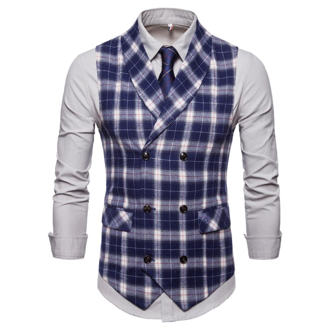 1129ce070e442 2019 Classic White Black Blue Navy Blue Plaid Gentleman Shirts Formal  Business Plaid Slim Tuxedo Waistcoat Handsome Boys Shirt From Blueberry07