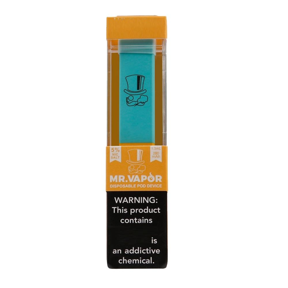Sıcak MR BUHAR Tek Cihaz Pod Başlangıç Seti 280mAh Pil 1.3ml Kartuş Bakla Vape Kalem VS Puff Bar Posh Artı Xtra In Stock