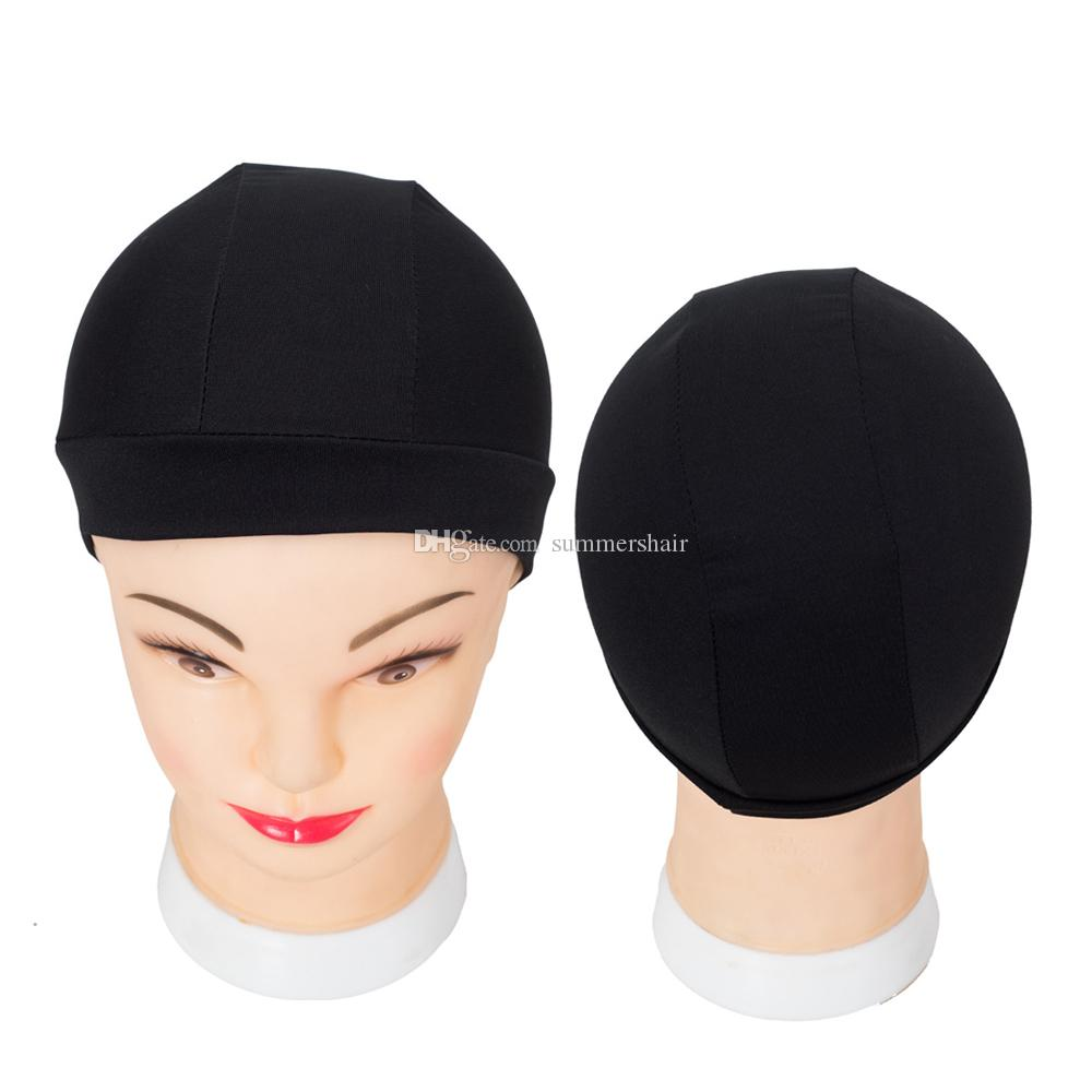 Tools & Accessories 24 Pcs Glueless Hair Net Wig Liner Cheap Wig Caps For Making Wigs Spandex Net Elastic Dome Wig Cap