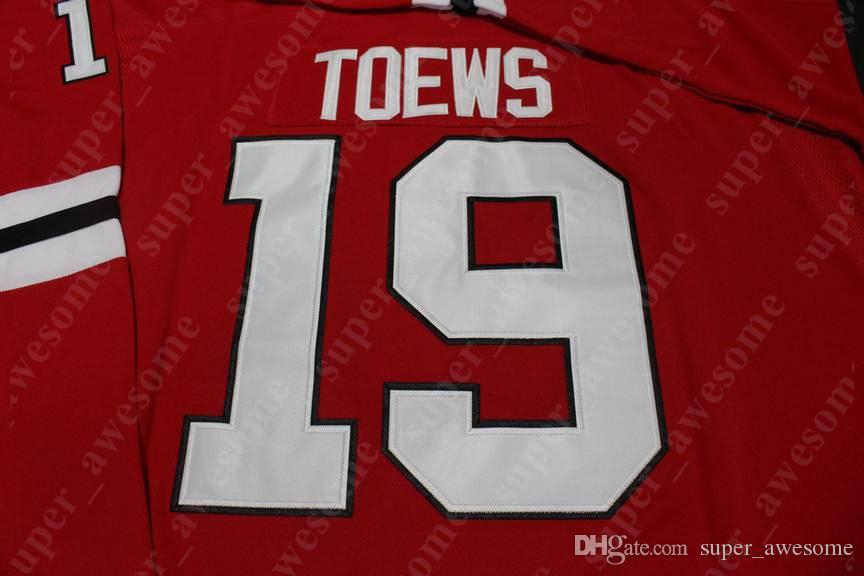 Chicago Blackhawks Jersey Jonathan Toews Patrick Kane Corey Crawford Duncan Keith Alex Debrincat Brandon Saad Casa Fora Hockey Jerseys Red