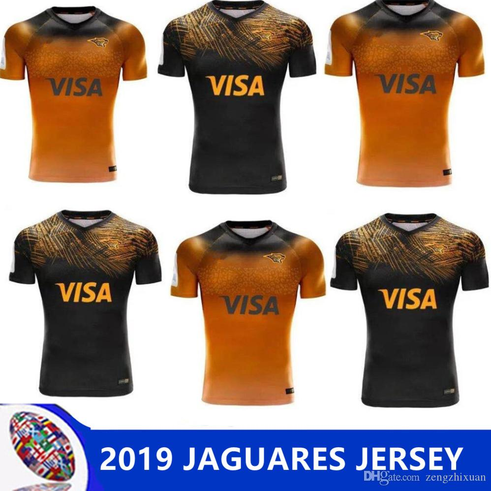 info for 74e3b 8e3f7 2019-2020 Jaguares home away rugby Jerseys 2017-2018 Argentina Rugby  Jerseys 2017 Jaguares Jersey Shirts Size S-3XL