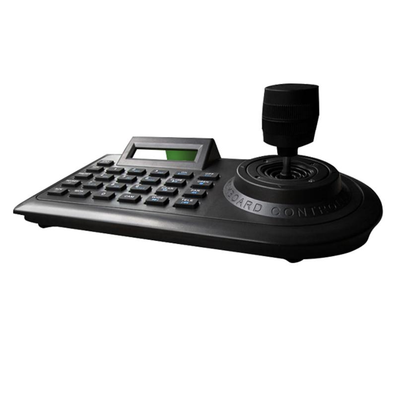 Axis Ptz Joystick Ptz Controller Keyboard Rs485 Pelco-D/P With Lcd Display  For Analog Security Cctv Speed Dome Camera