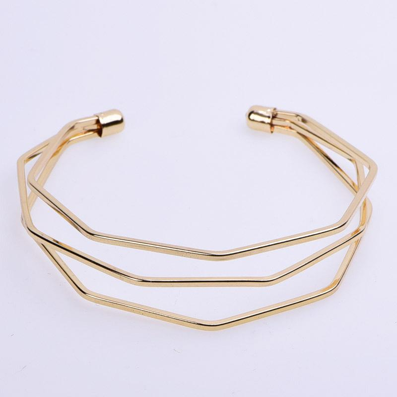 New Pattern Rose Gold Ornaments Product Diamond Wire Women S Style Minimalism Wear Bracelet Korean Edition Hand Ornament