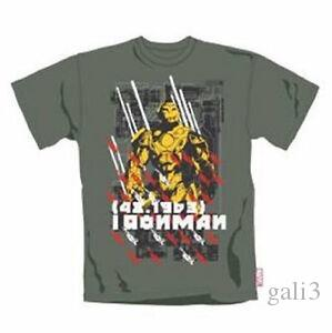 Iron Man - Marvel Comic Extreme - Camiseta Oficial Hombre