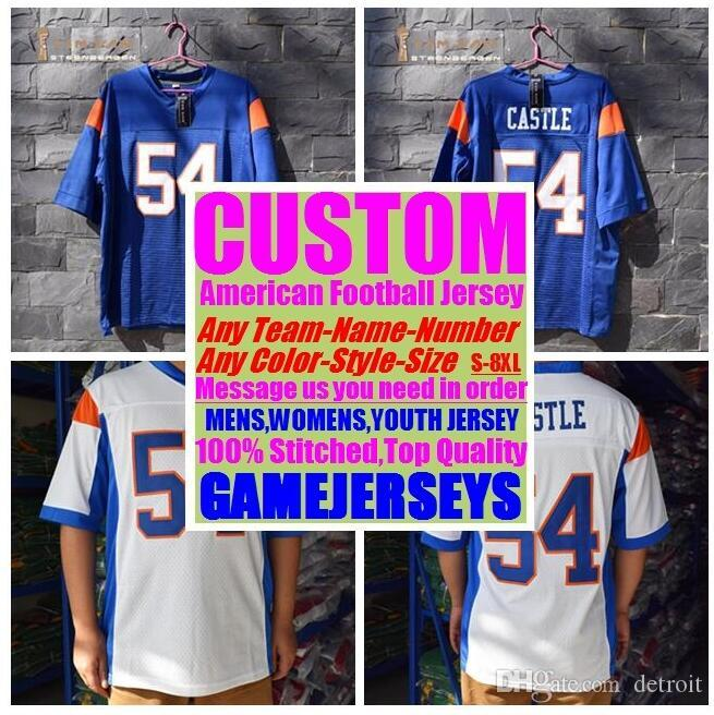 e43948c978f 2019 Customized American Football Jerseys College Cheap Authentic ...